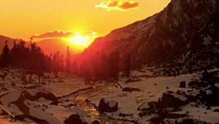 Har ki Doon Sunset