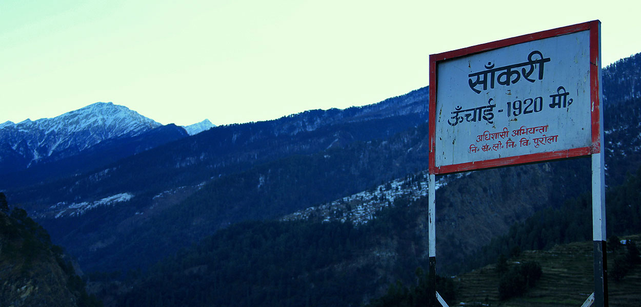 Sankri – A hamlet in the Himalayan lap