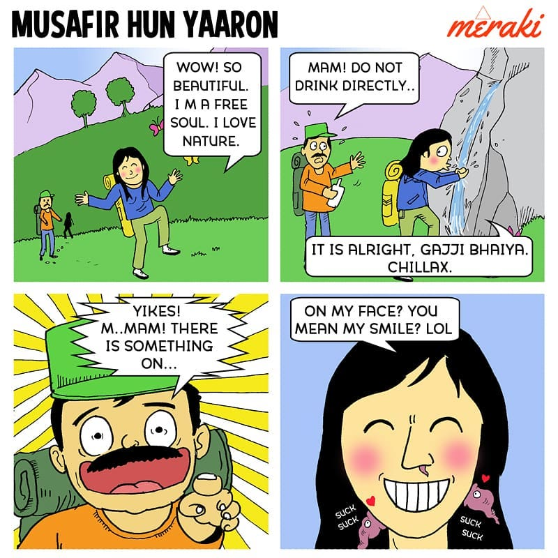 Meraki - Outdoor Comic