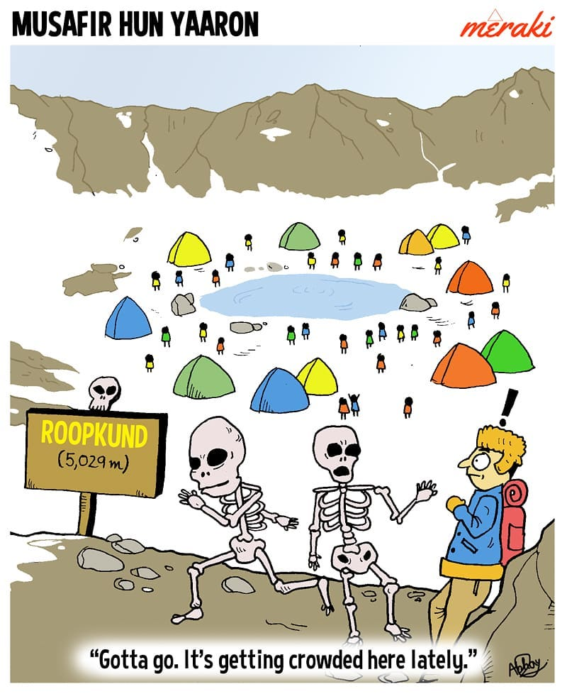 The Skeletons of Roopkund