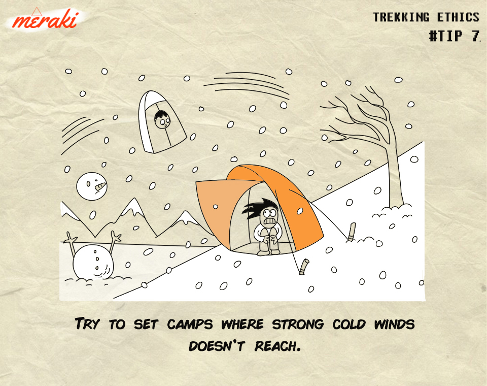 where to pitch tents