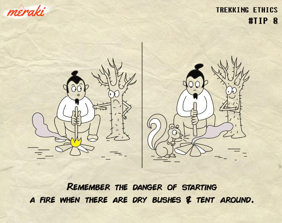 lighting a fire - trek ethics