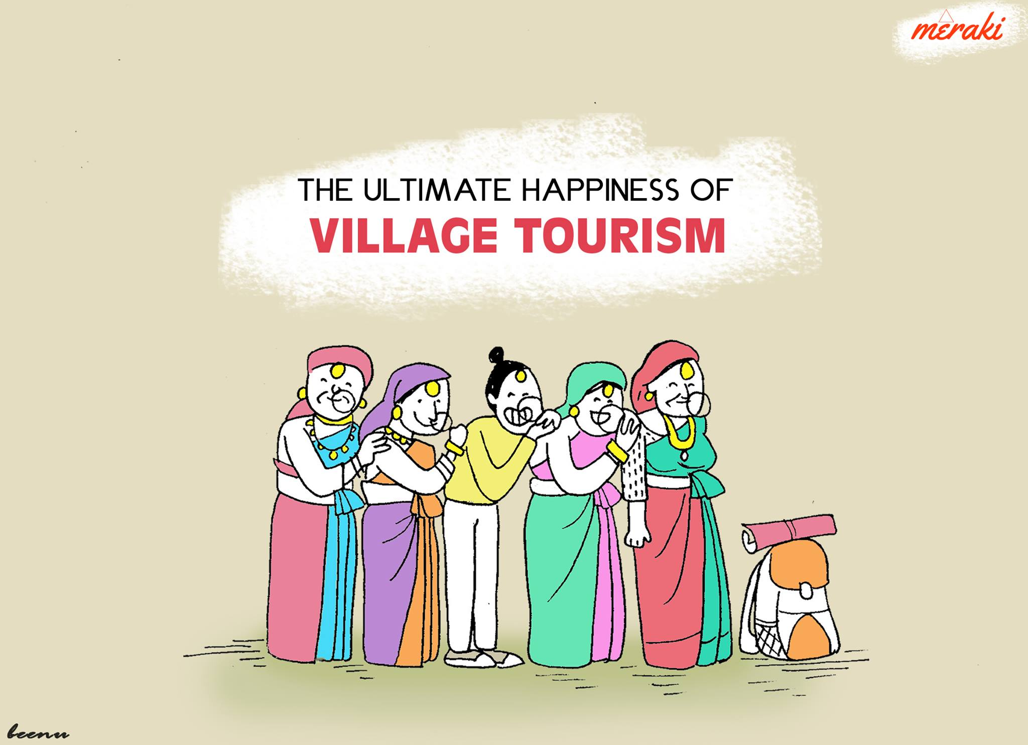 Village Tourism Comic